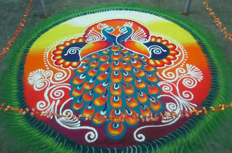 Simple Amp Easy Rangoli Designs For Diwali Freehand 2017