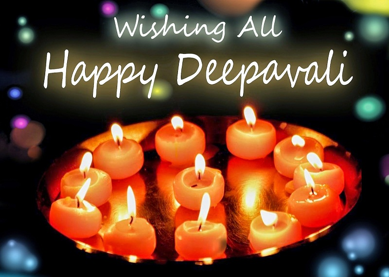 Best Happy Diwali 2017 Greetings in English and Hindi