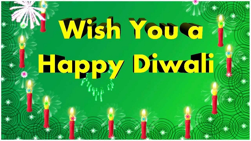 Handmade Diwali Greeting Cards 2021