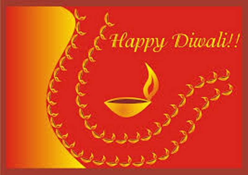 Happy Deepavali Greetings With Name and Photo 2020