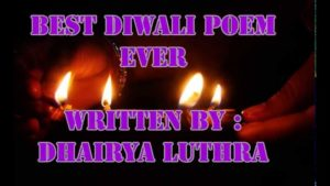 diwali poems in english small