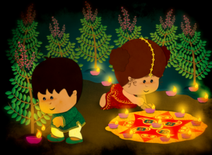 diwali poems with pictures