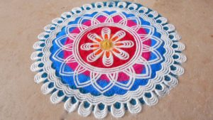 simple rangoli designs for diwali at home